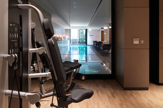 Gym and Indoor Pool View