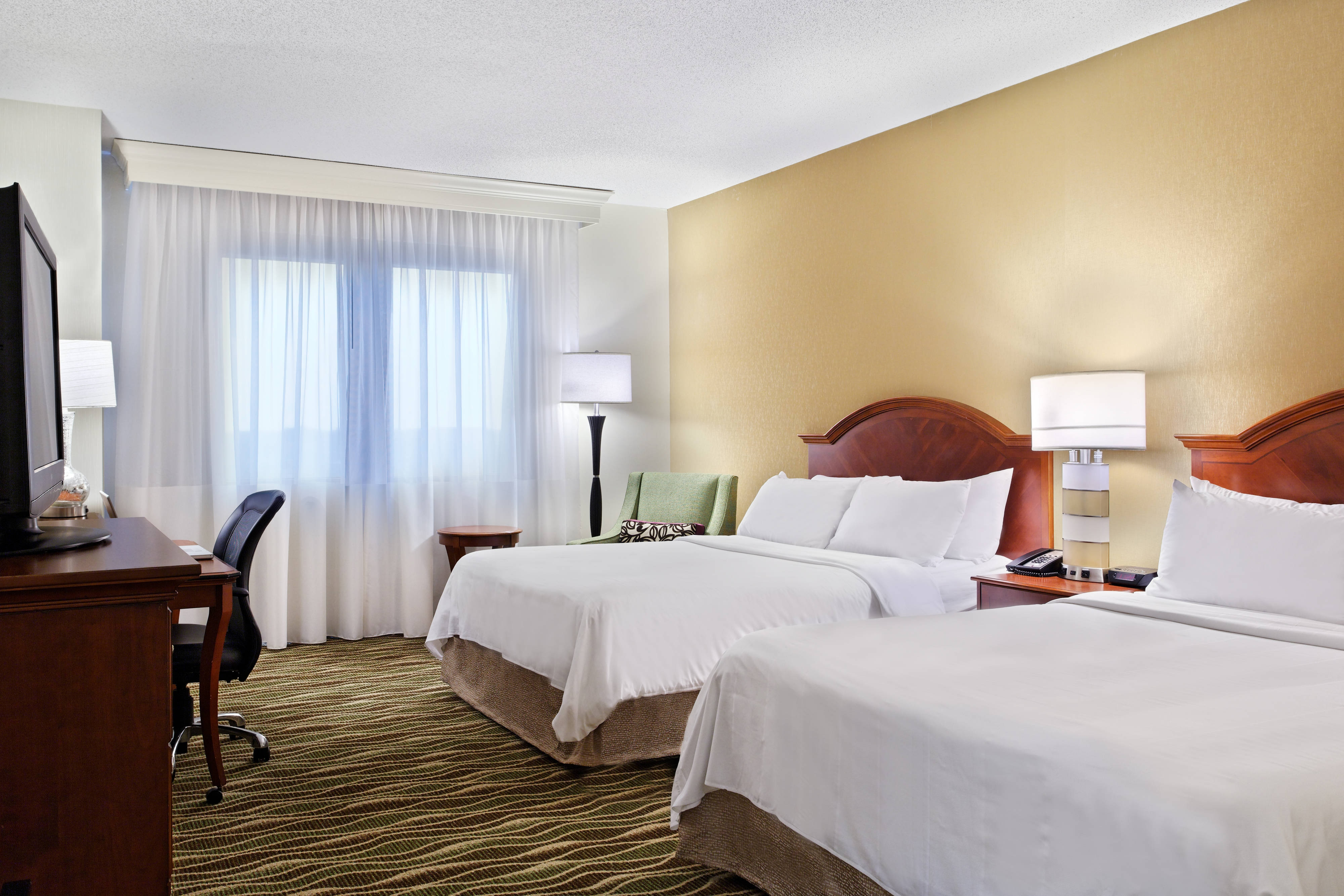 Spartanburg Marriott Guest Room