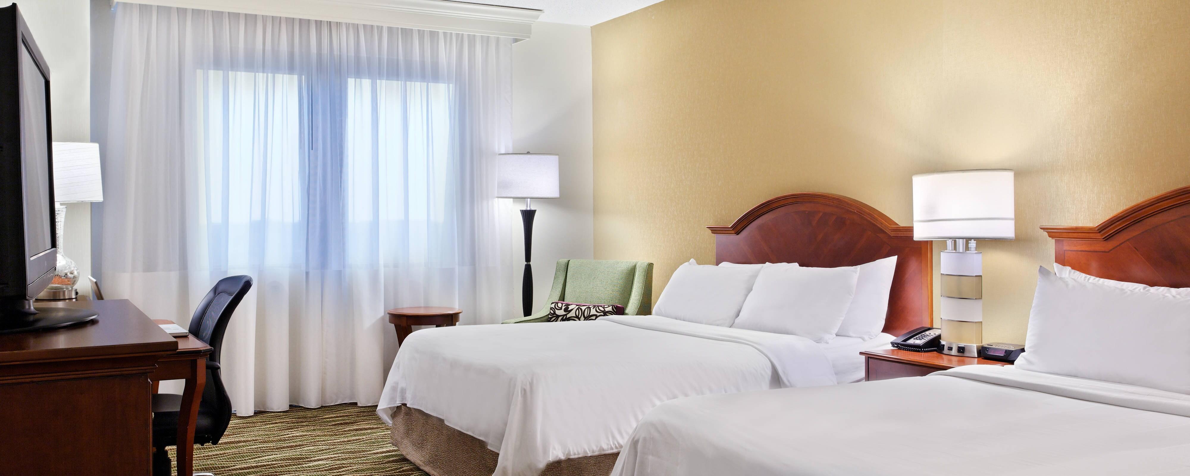 Gästezimmer im Spartanburg Marriott
