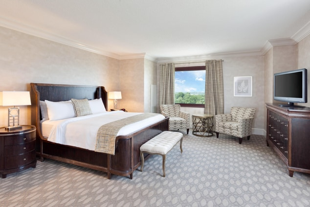 Renovated Governor's Suite Sleeping Area