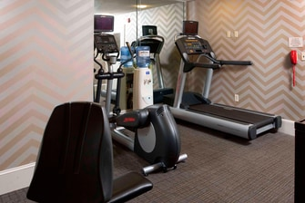 Spartanburg South Carolina Hotel Fitness Center