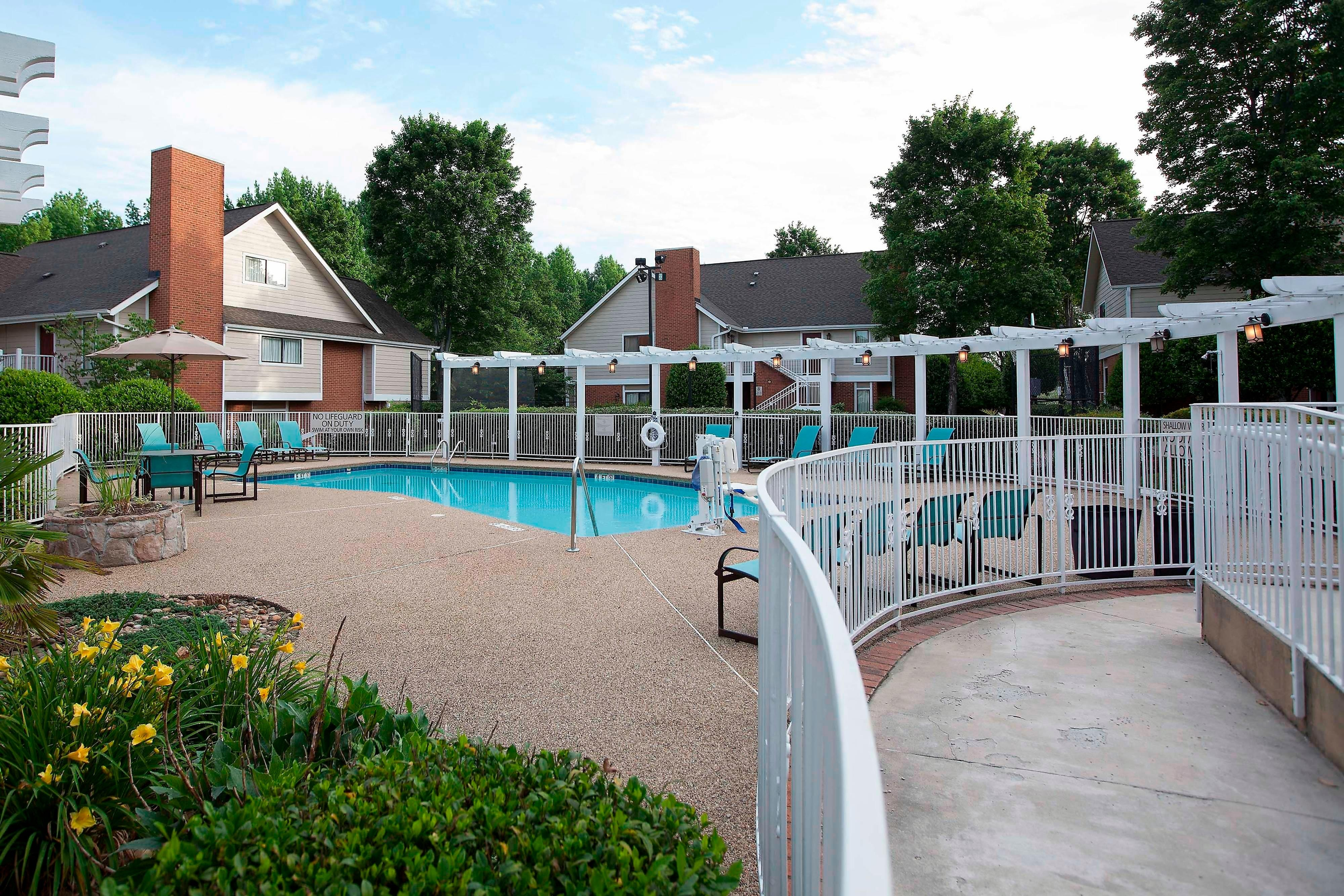 Spartanburg South Carolina Hotel Outdoor Pool