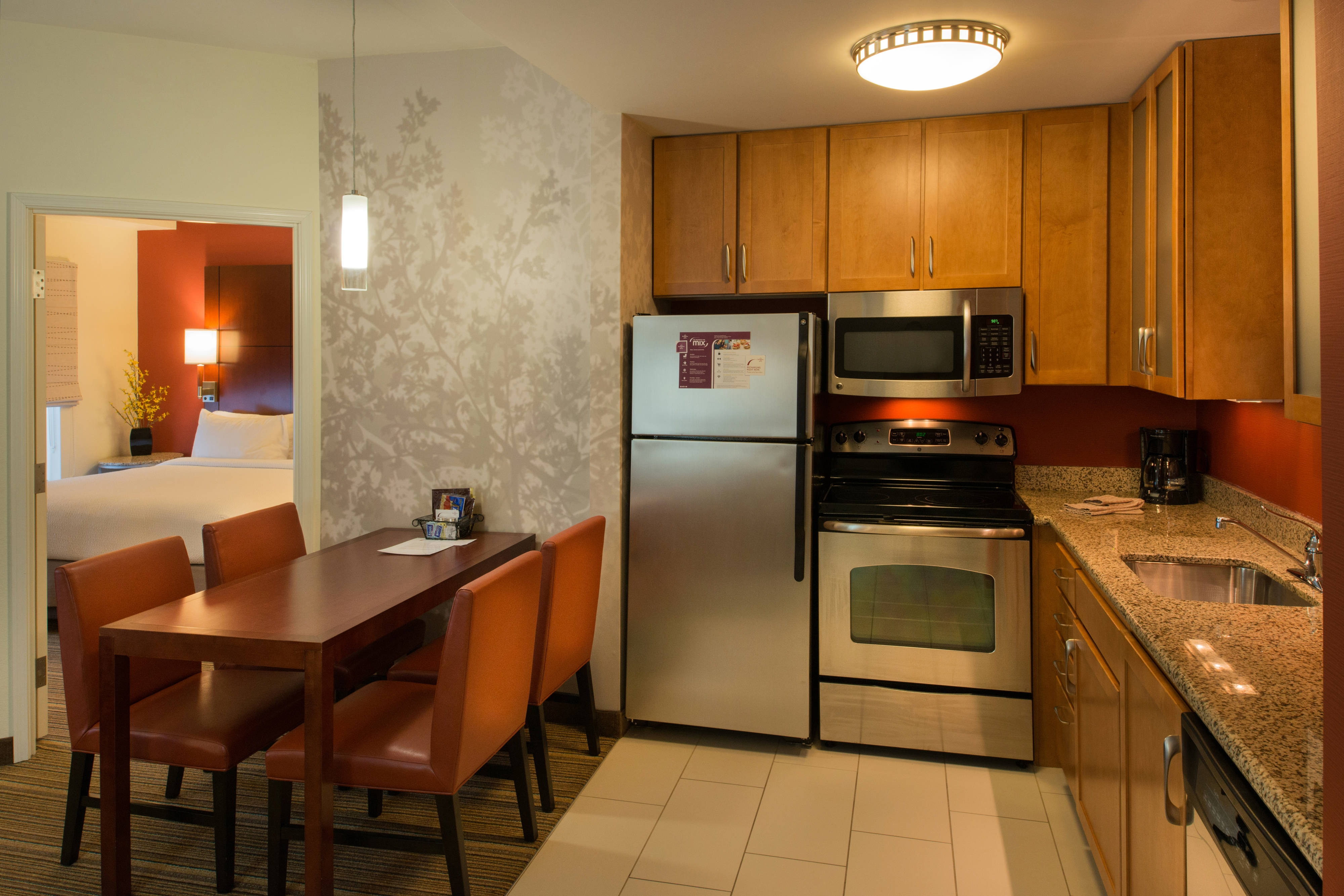 Suite à deux chambres-cuisine