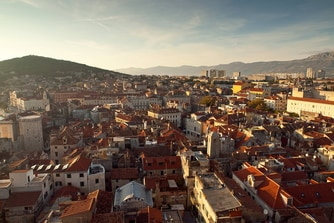 Local area - city of Split