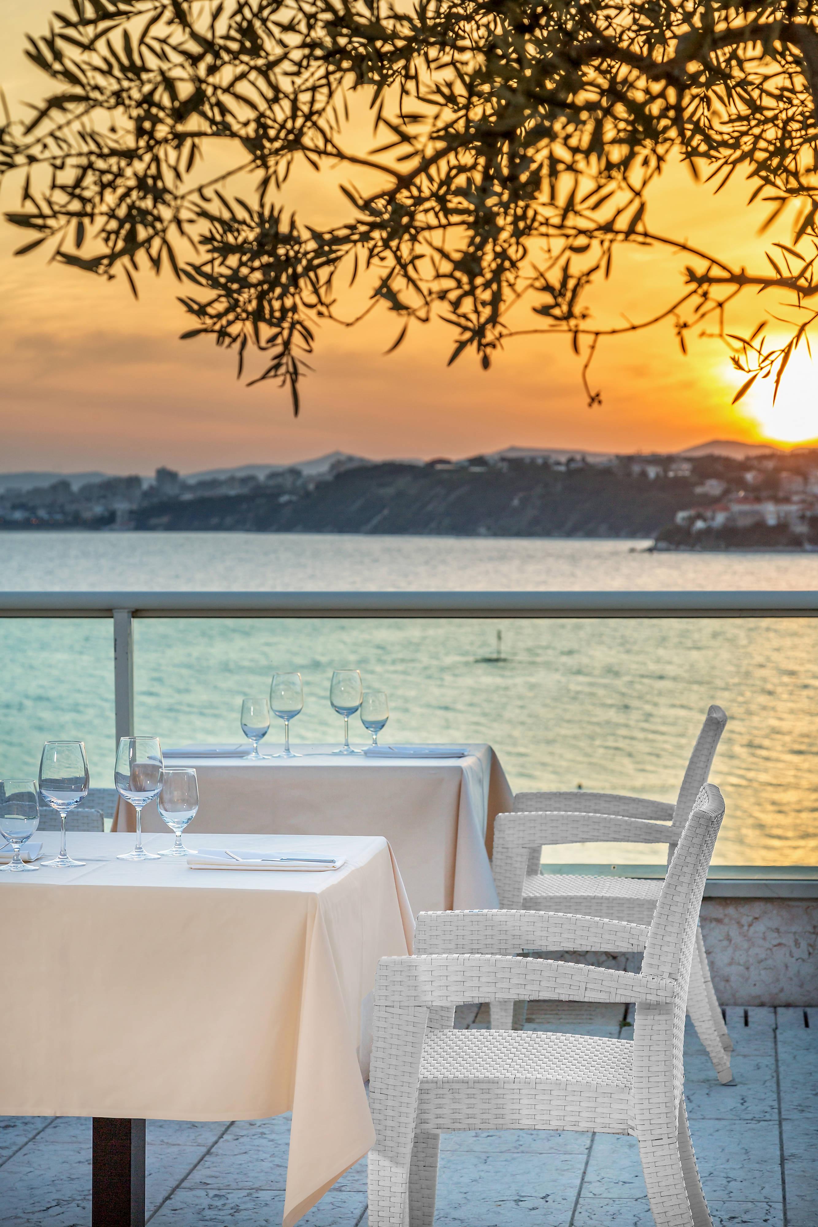 Spalatum Restaurant terrace