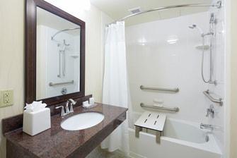 Sarasota hotel accessible bathroom