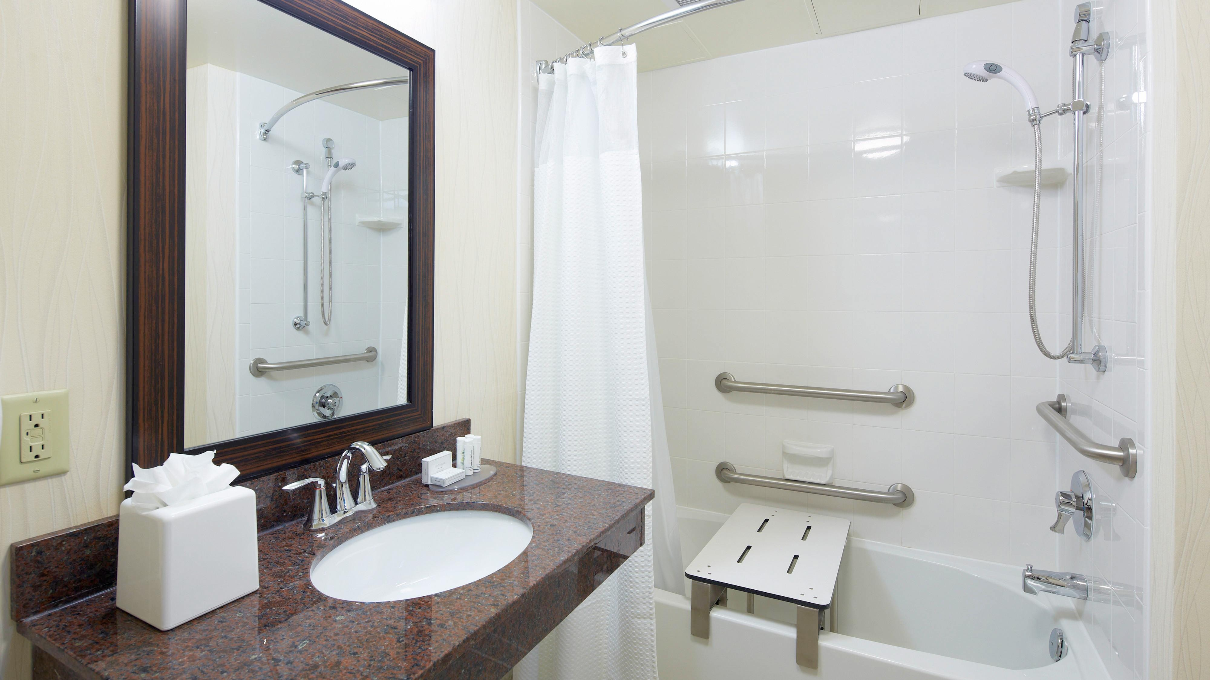 Sarasota hotel accessible bathroom