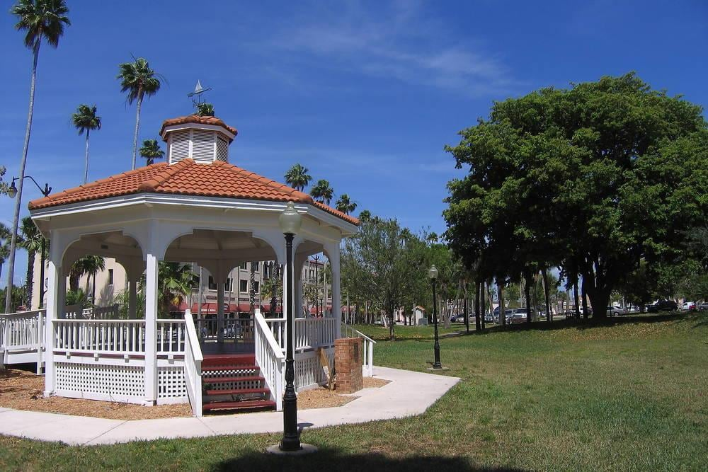 Venice FL downtown gazebo