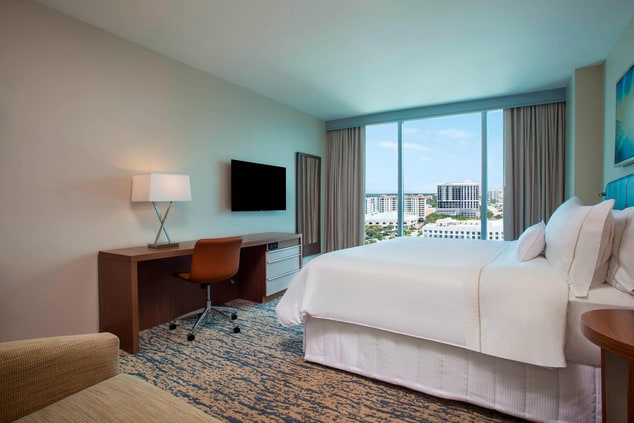King Traditional City View Room
