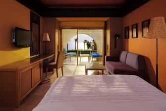 غرفة فاخرة (Deluxe)، إطلالة على البحر