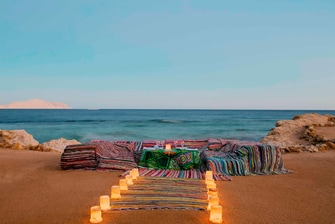 Bedouin Beach Wedding