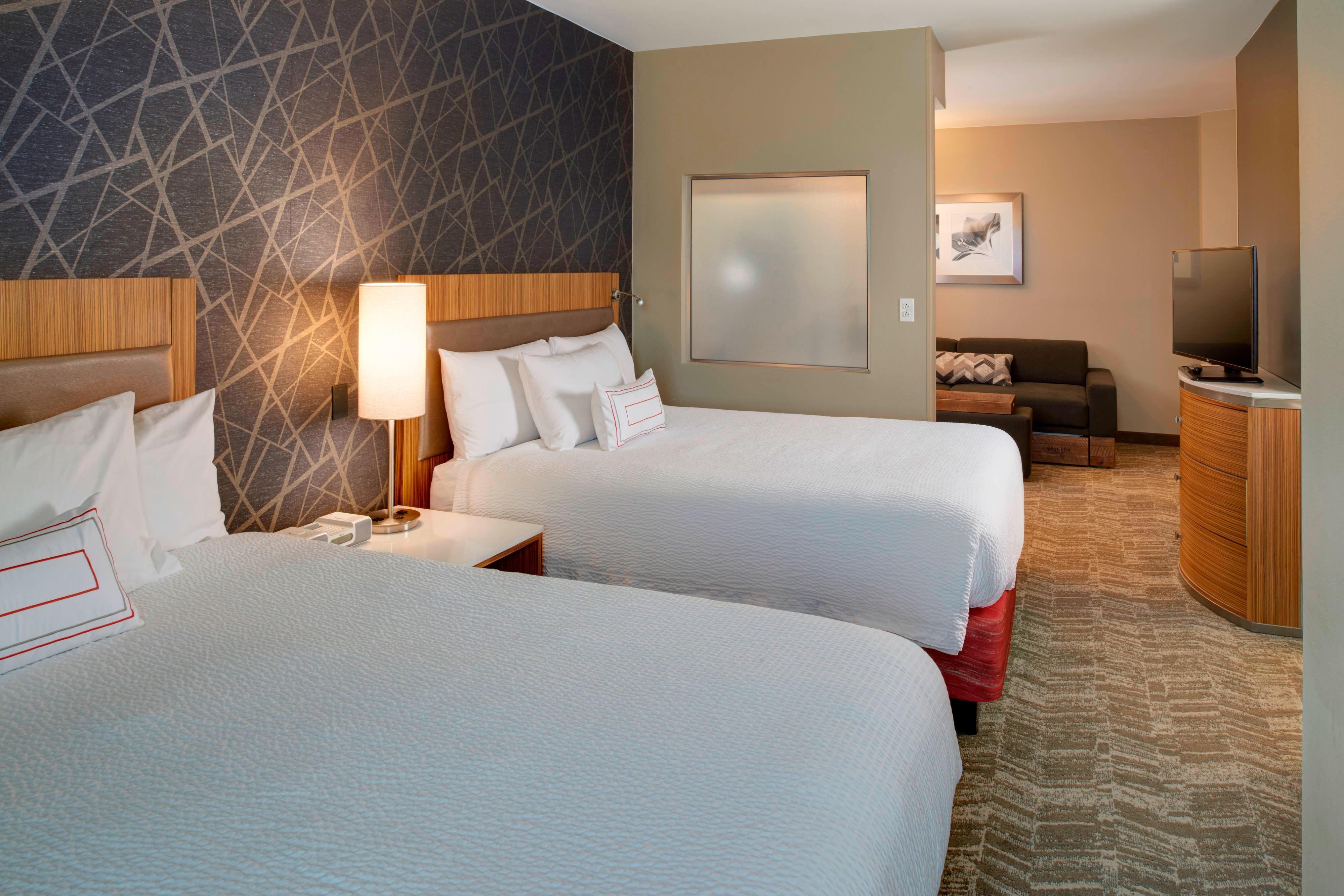 Suite mit zwei Queensize-Betten