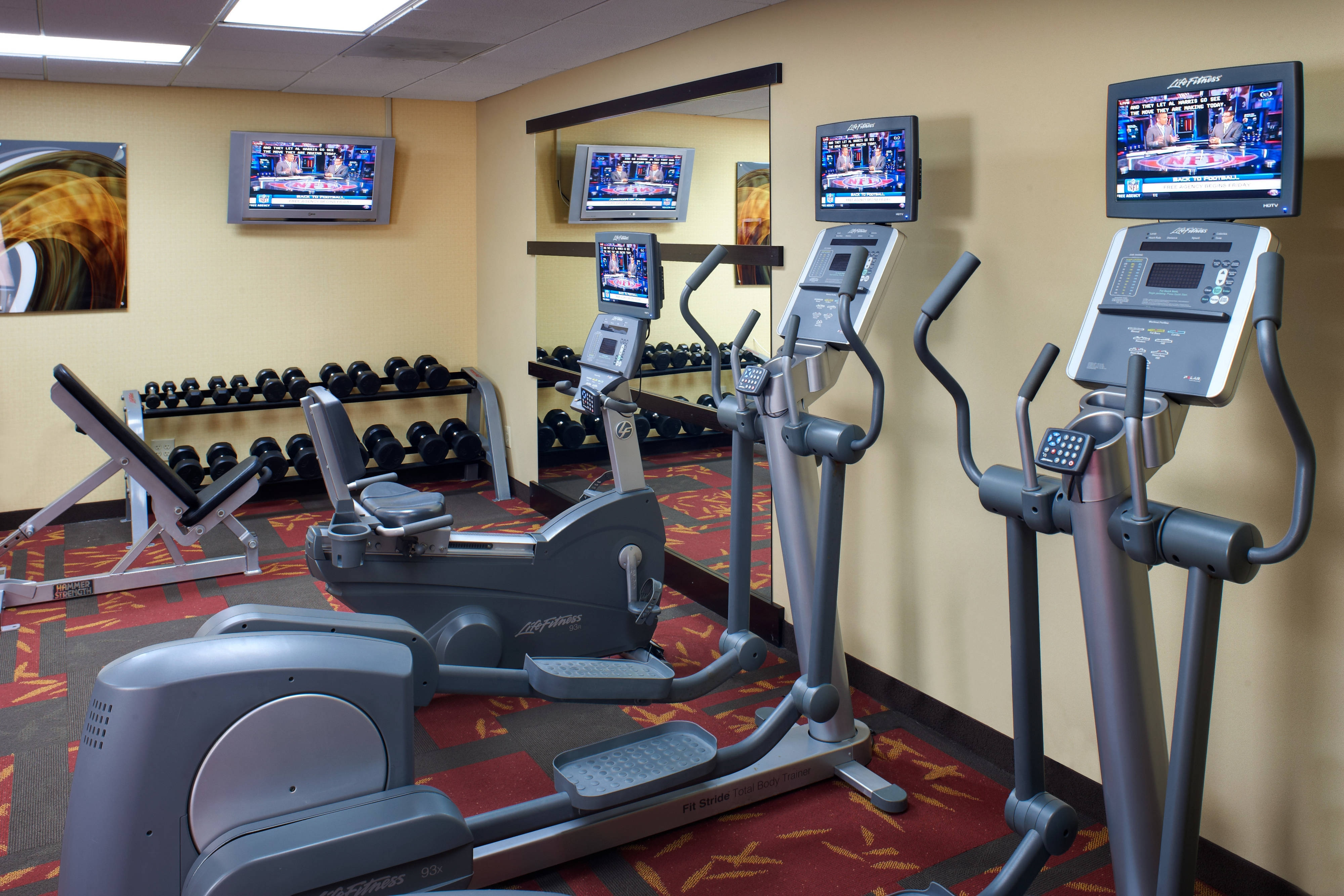 Courtyard St. Louis Creve Coeur Fitness Center