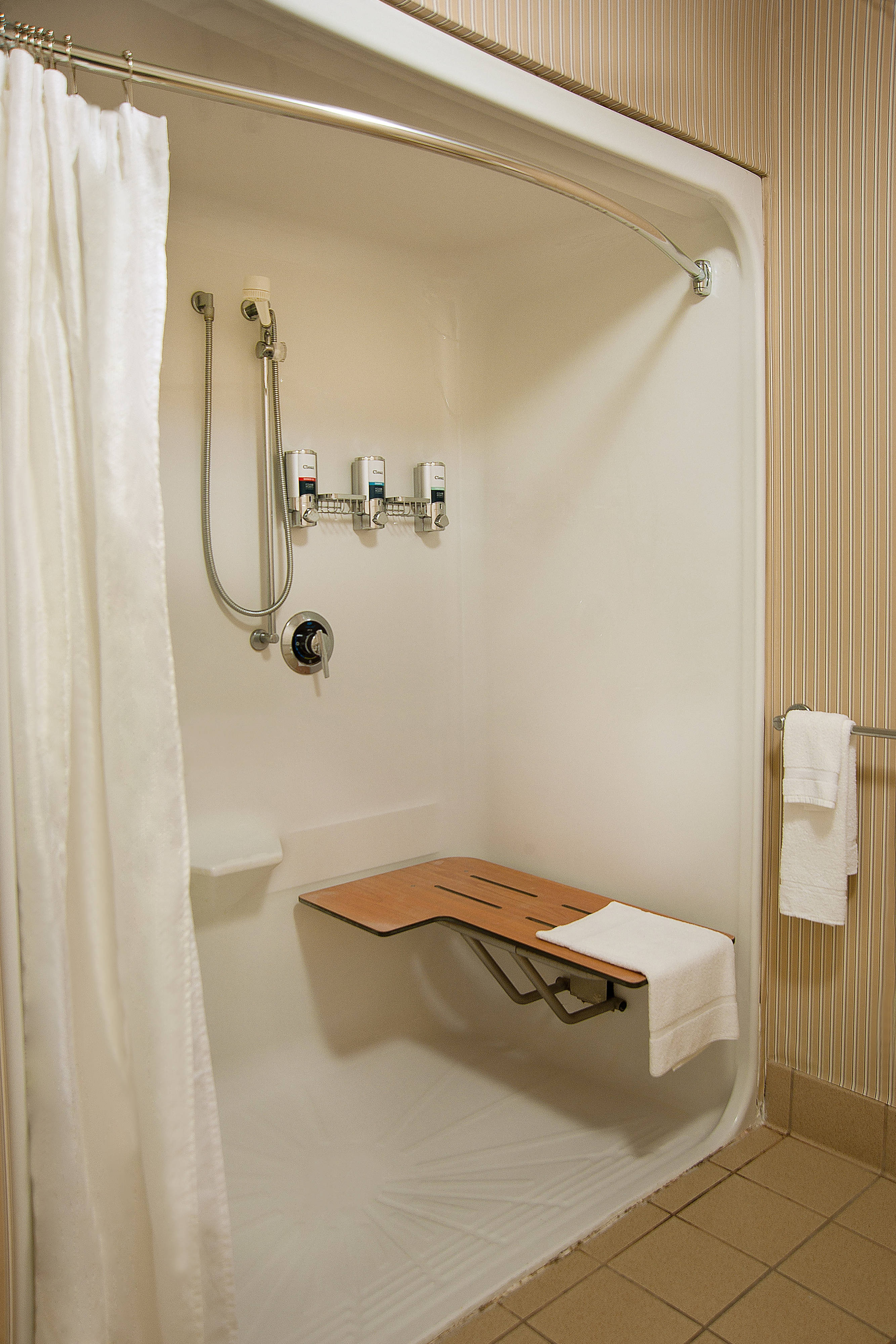 Accessible Room Roll in Shower