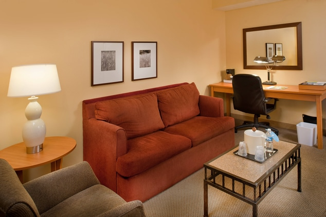 Accessible Deluxe Suite with Sofa Bed