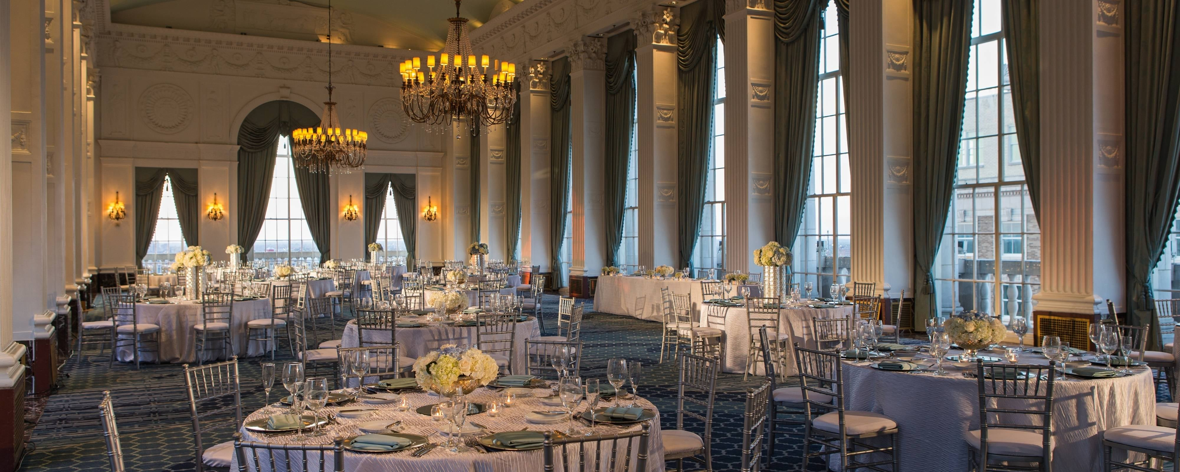Downtown St Louis Wedding Reception Venues | Marriott St ...