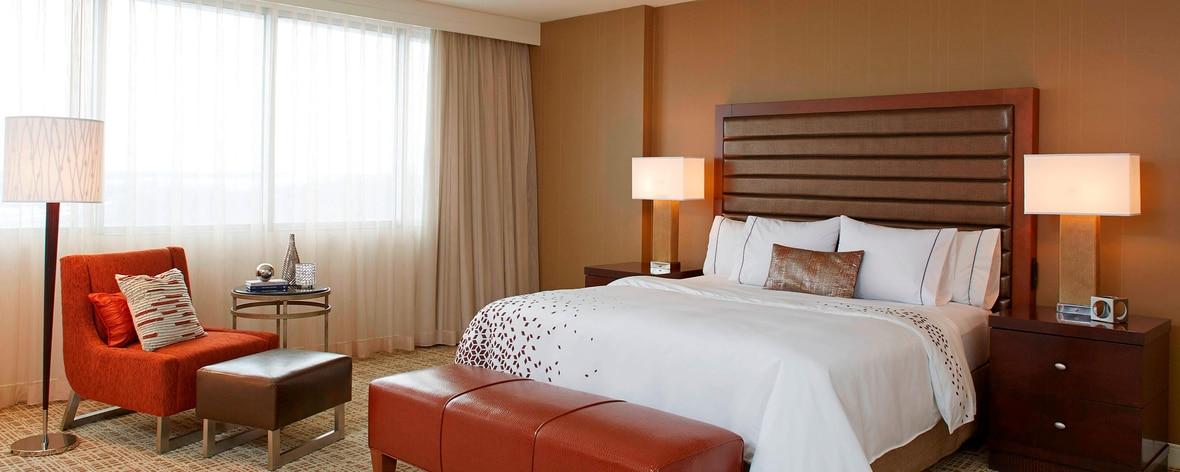 セントルイスのエアポート ホテルのスイート