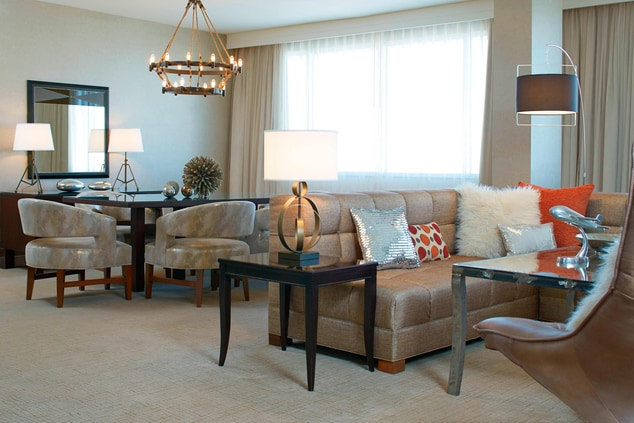 Presidential Suite – Living & Dining Area
