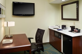 Suite Kitchenette and Desk