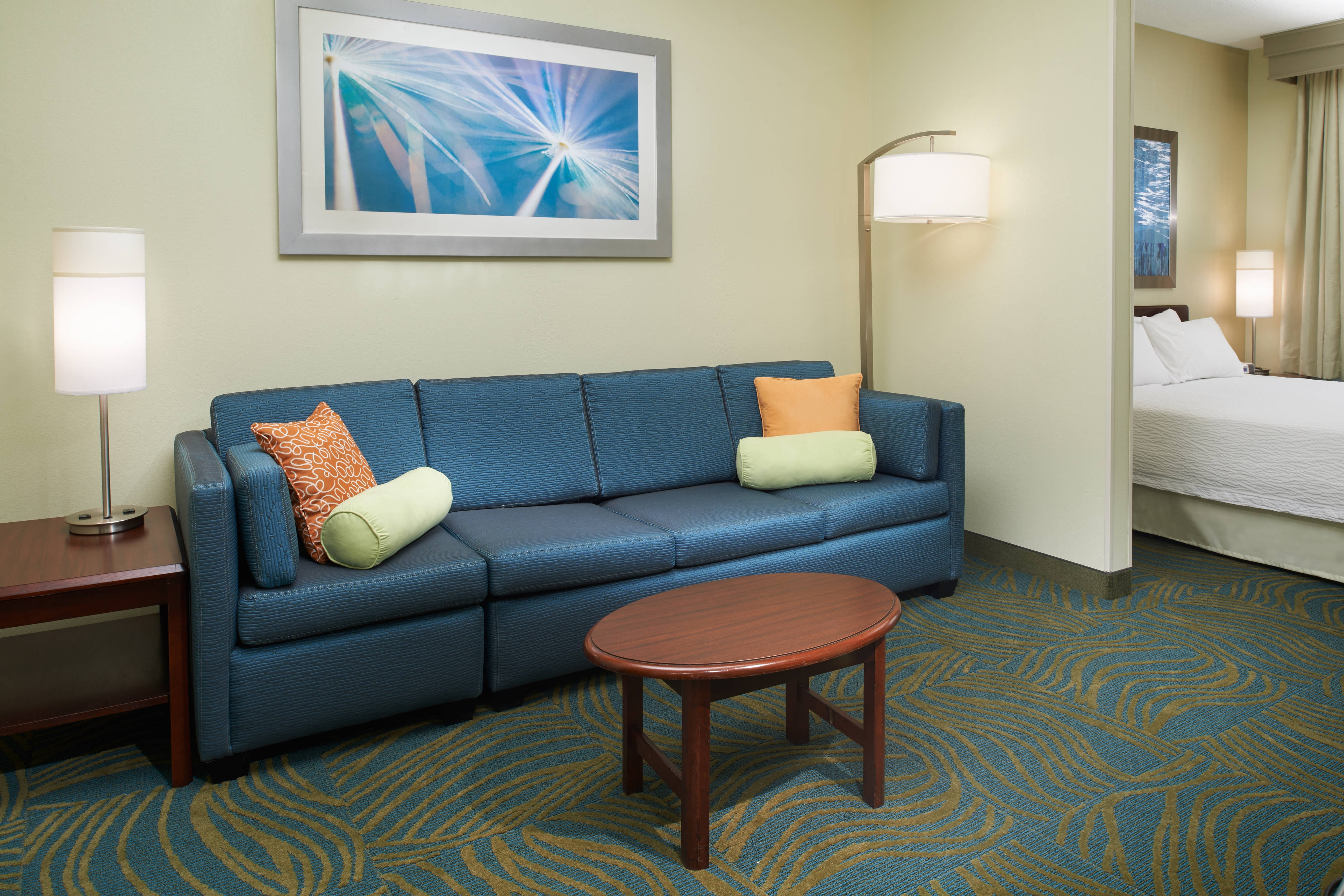 King Suite Seating Area