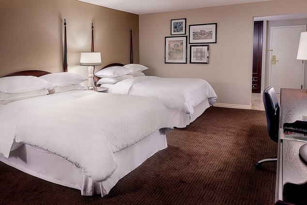 Two Beds Guest Room
