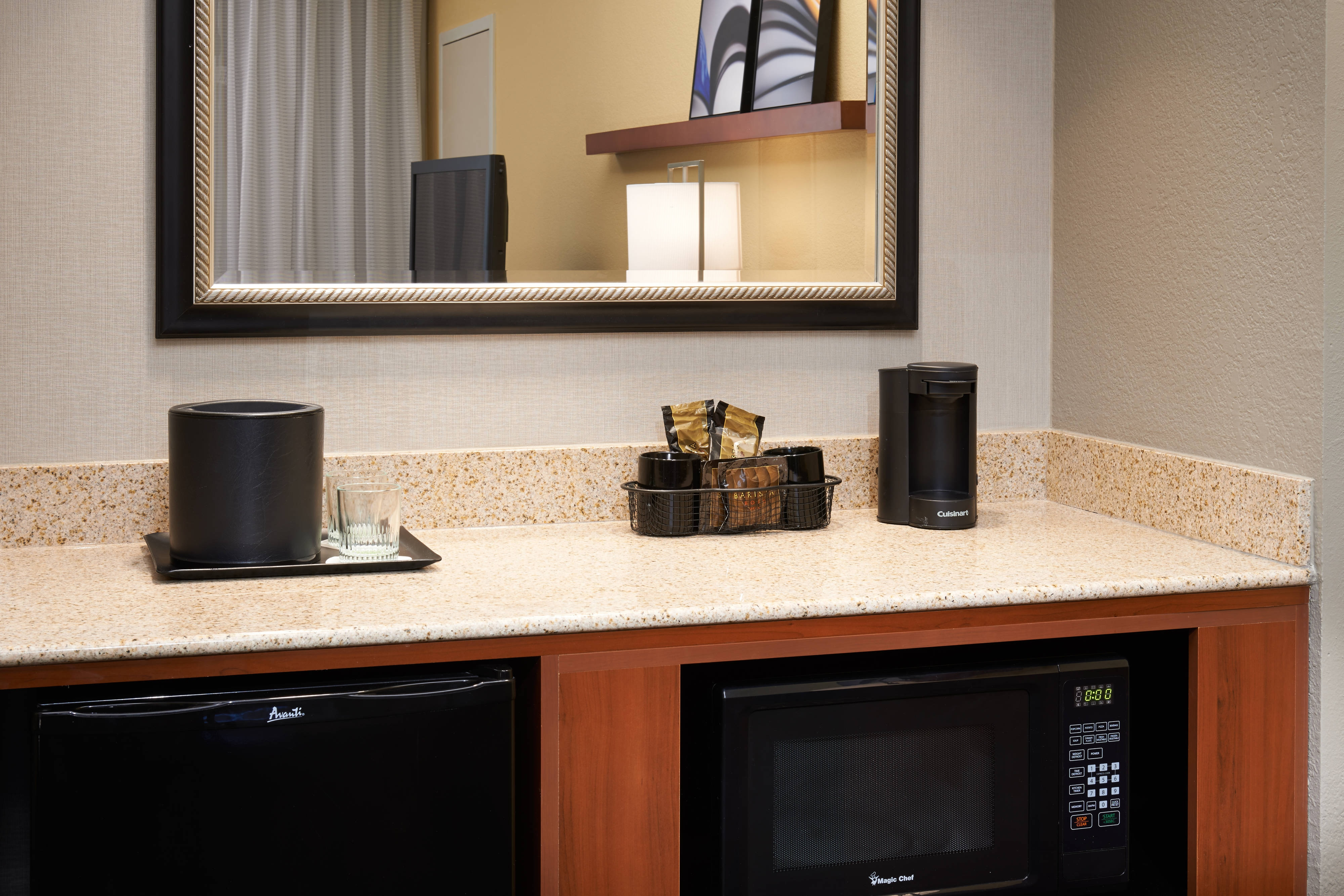 Suite – Amenities