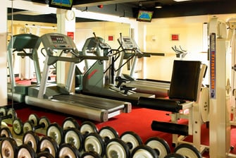 Cheshunt Marriott gimnasio