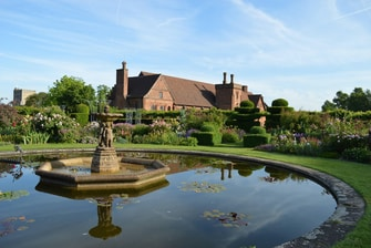 Garden of the Hatfield House