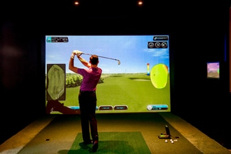 Golf simulator in Hertfordshire