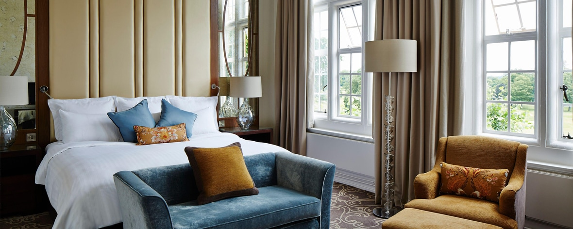 Chambre Prestige au Hanbury Manor Marriott Hotel & Country Club