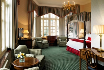 Suites con cama con dosel Hanbury Manor
