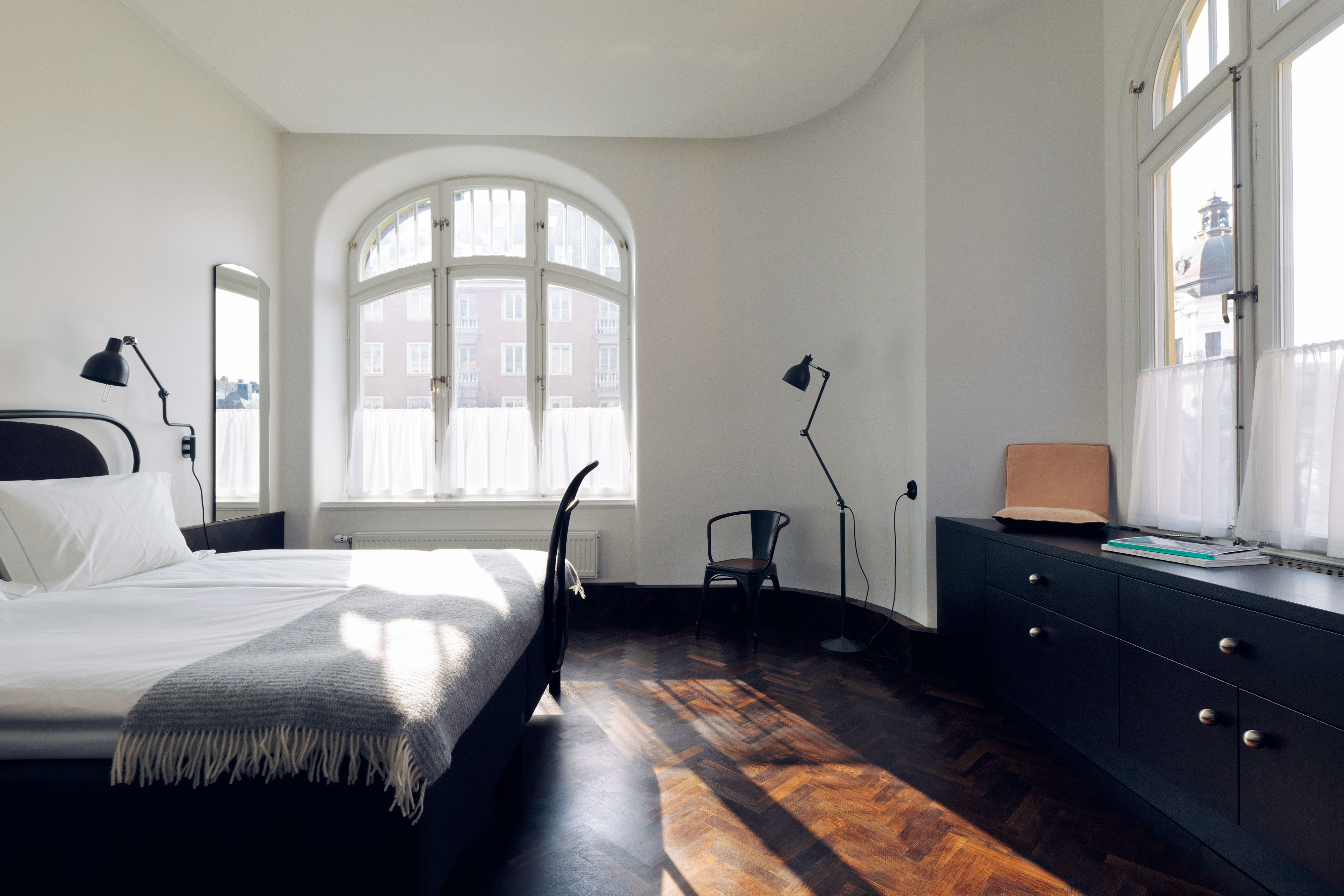 Chambre d'angle Deluxe avec lit king size