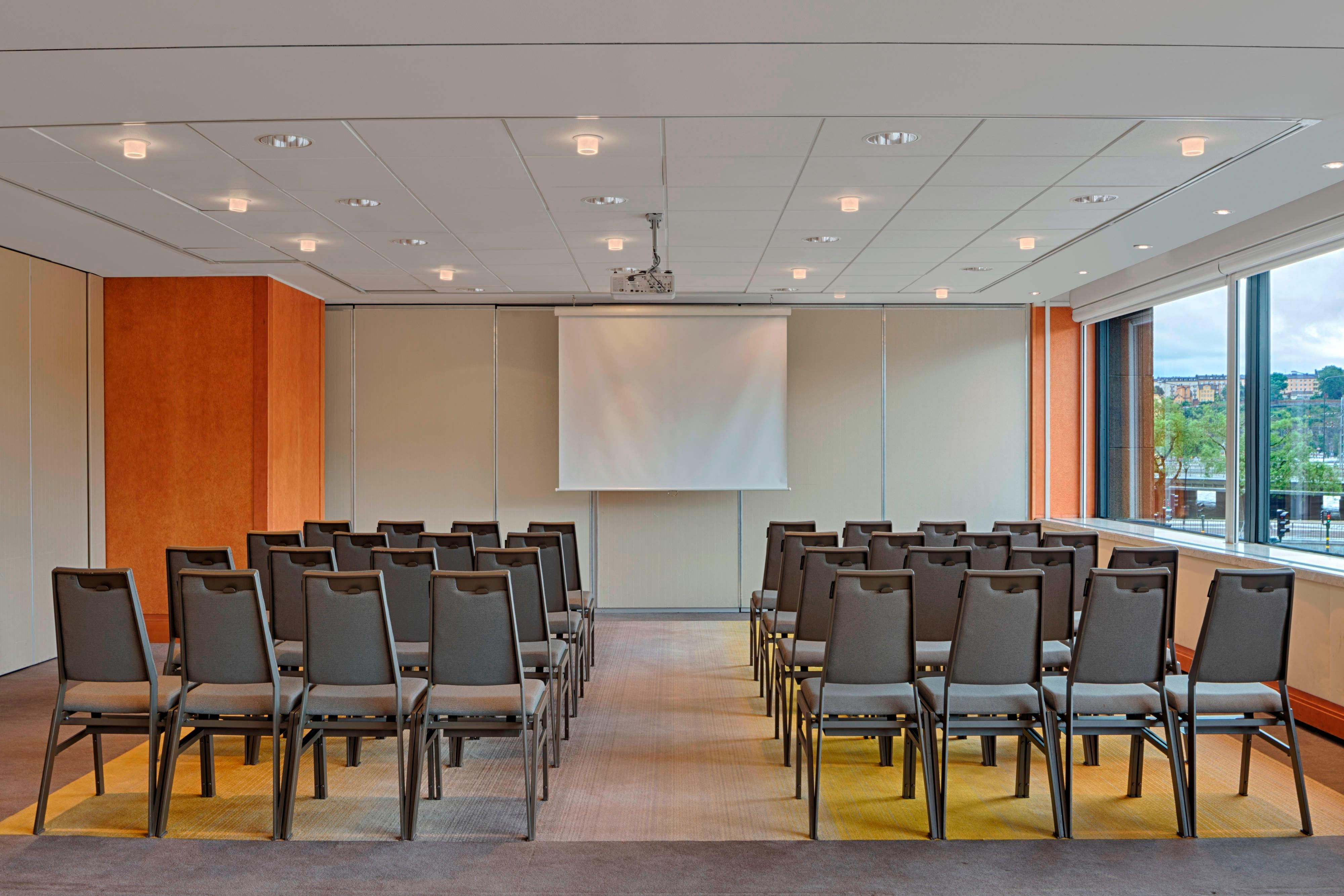 Haga Meeting Room -Theatre-Style Meeting