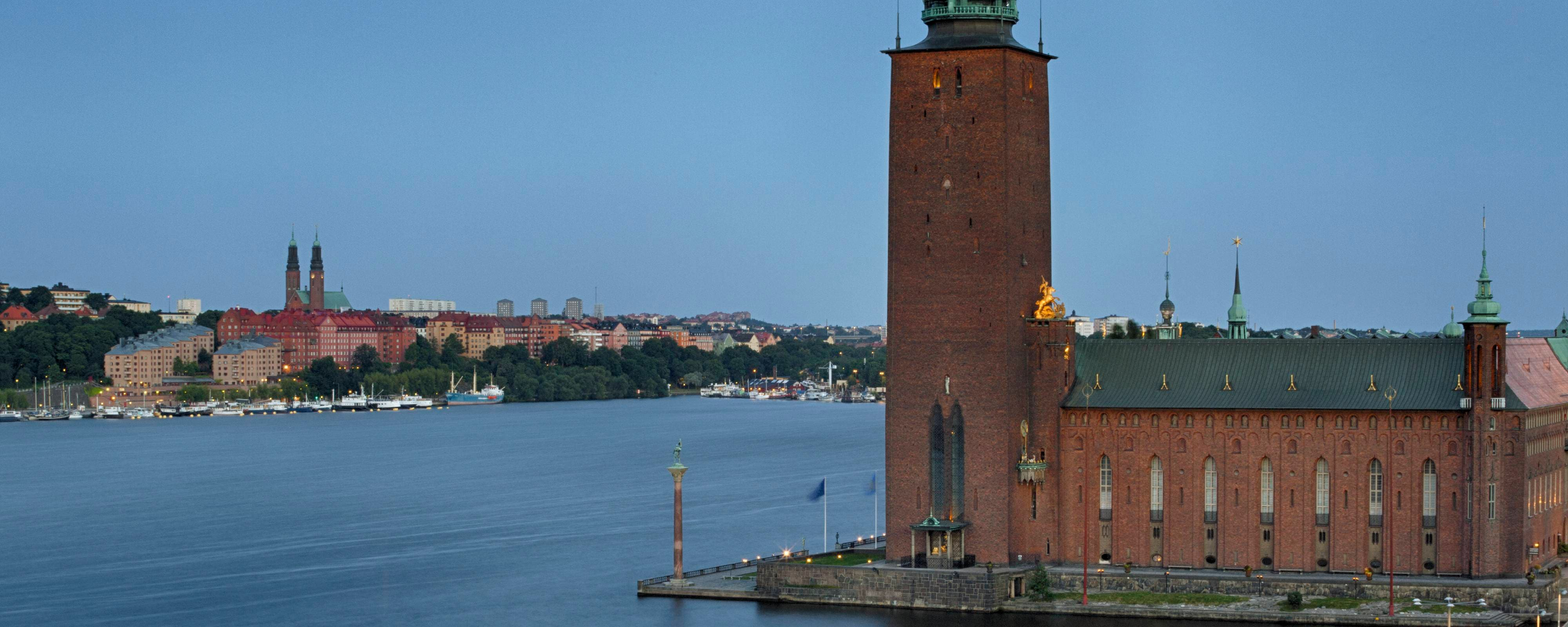 Guest Room View Stockholm City Hall
