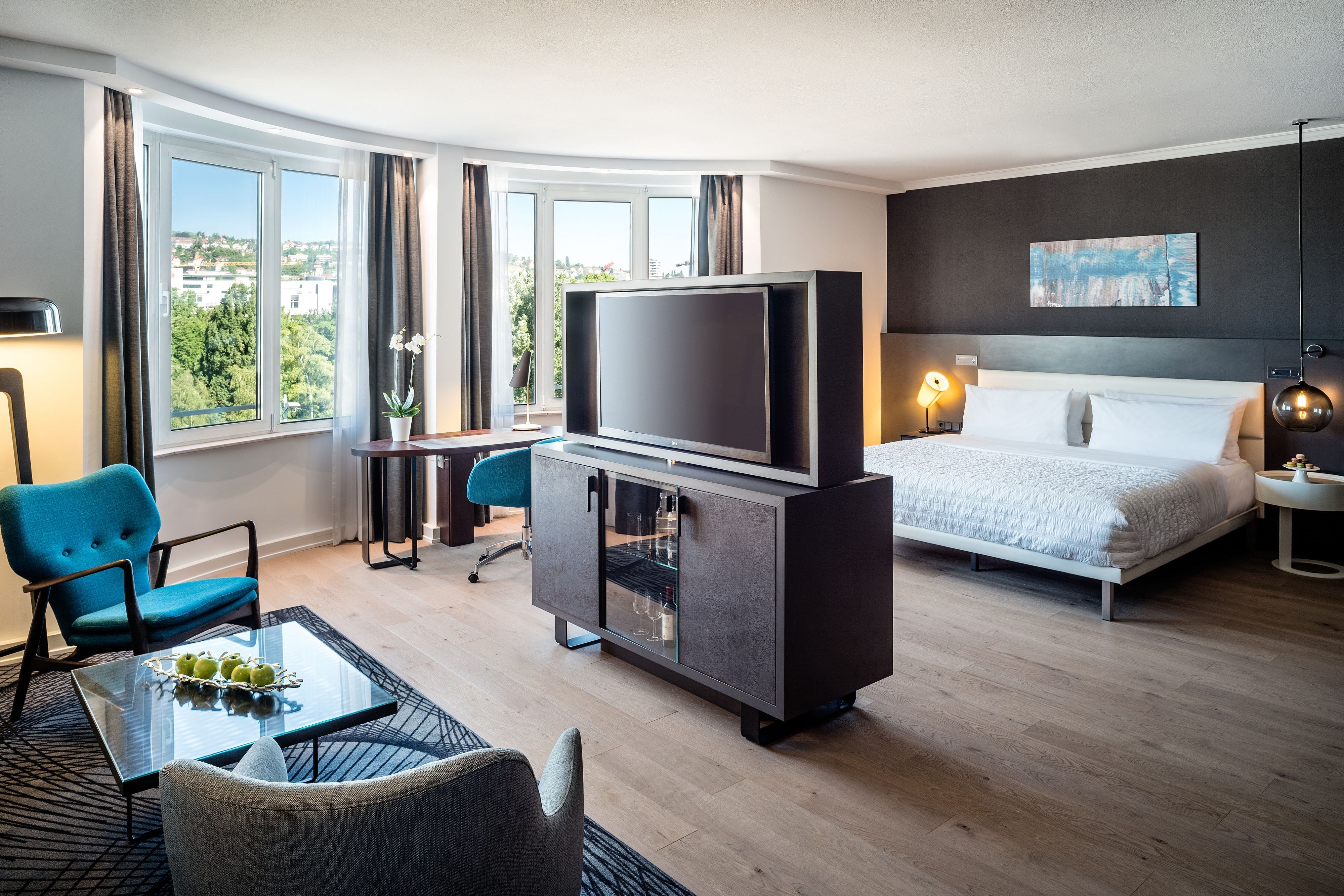 Chic Junior Suite mit Kingsize-Bett