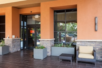 Courtyard by Marriott Santa Rosa Entrance