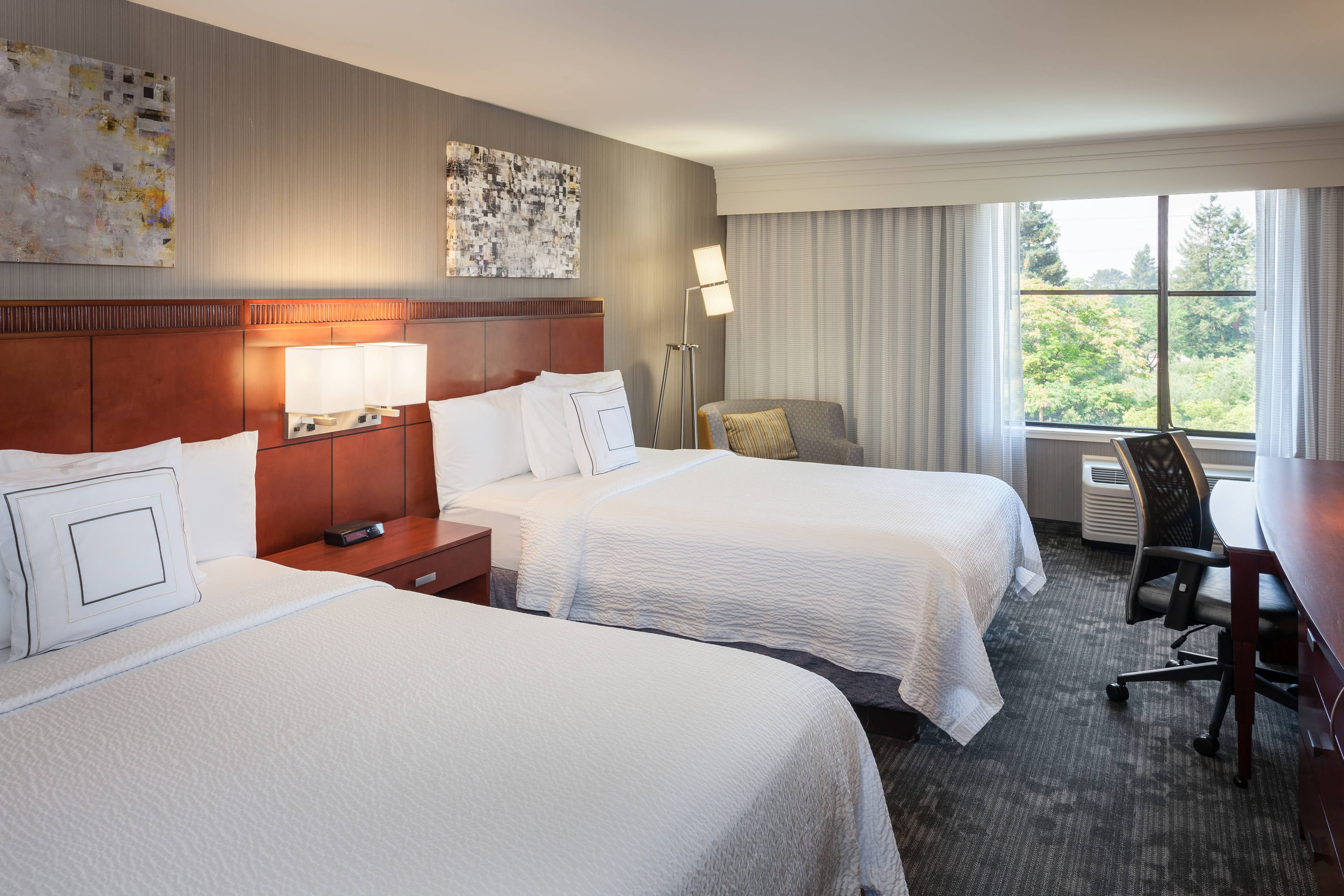 Courtyard by Marriott Santa Rosa Double/Double Room