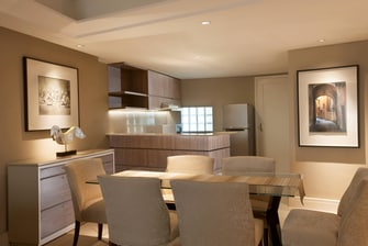 Apartment - Kitchen and Dining Area