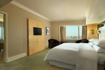 Deluxe Suite with access to Club Lounge