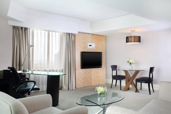 Spacious Executive Suite - Living Room