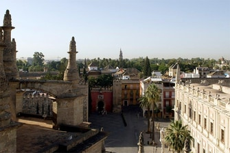 cathedral of Sevilla in Seville