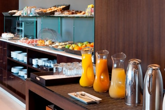 Seville hotel with breakfast buffet