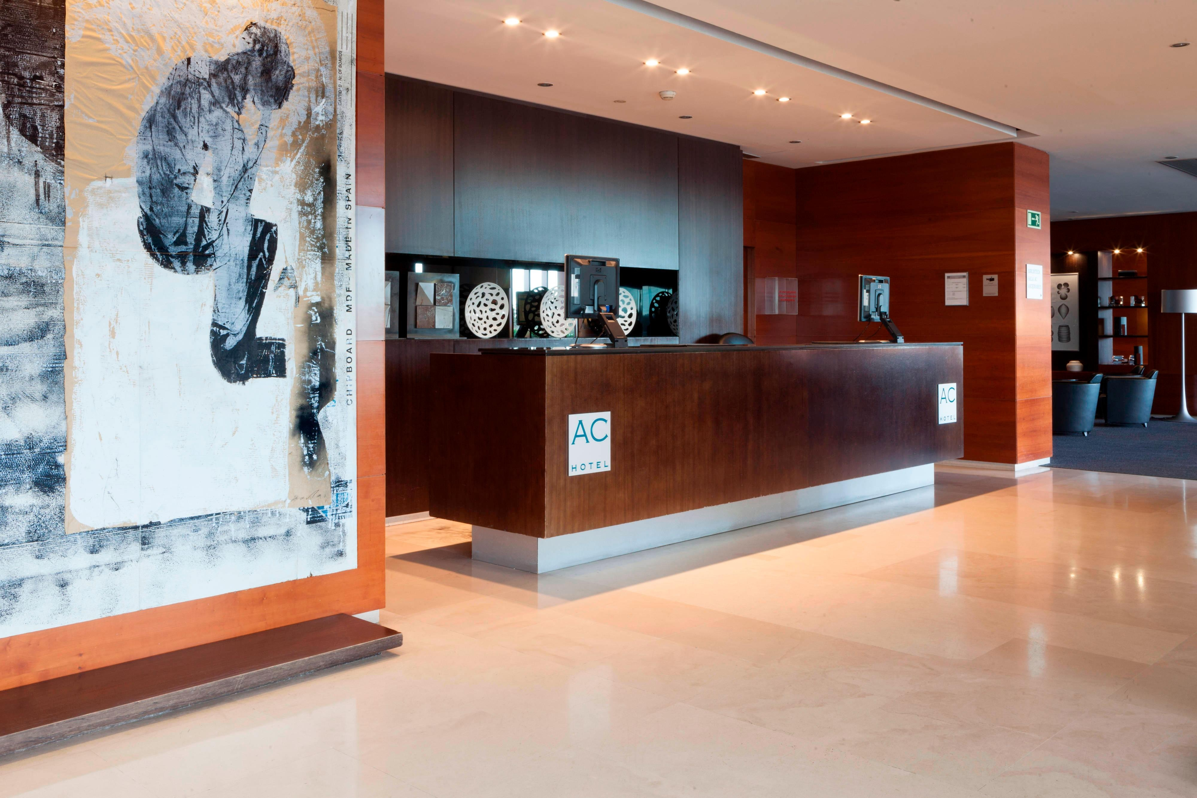 reception ac hotels by marriott in seville