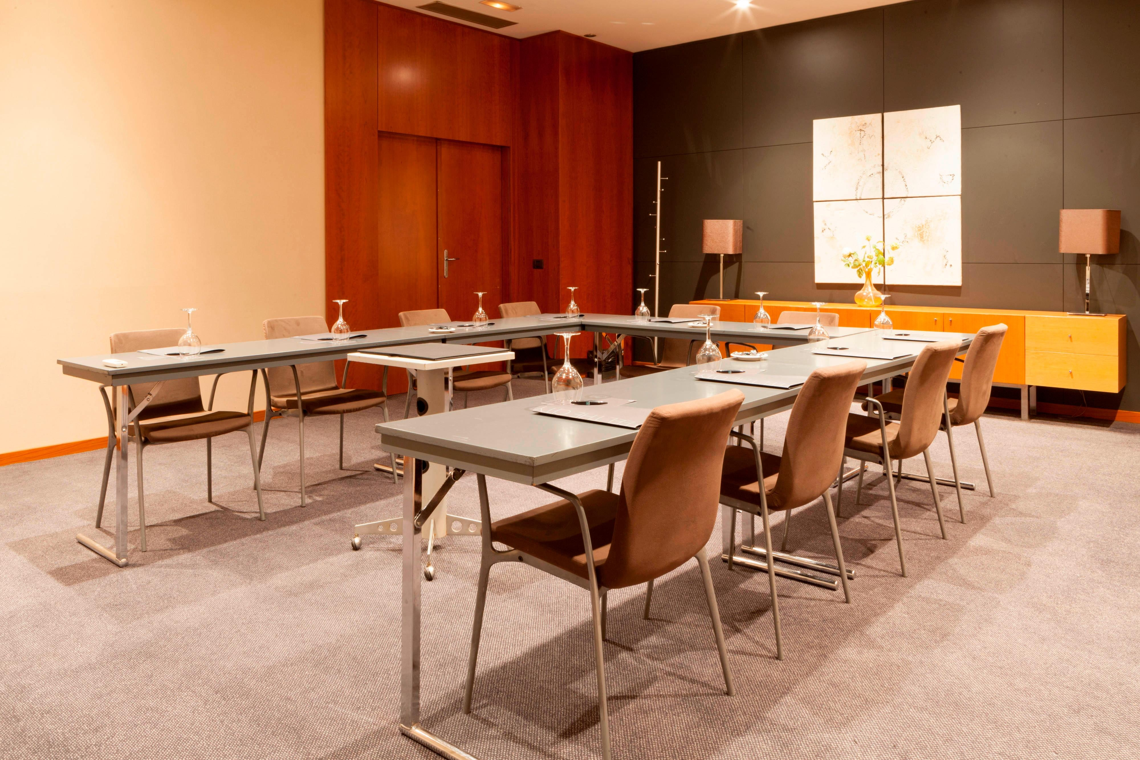 Consejo meeting room in seville hotel
