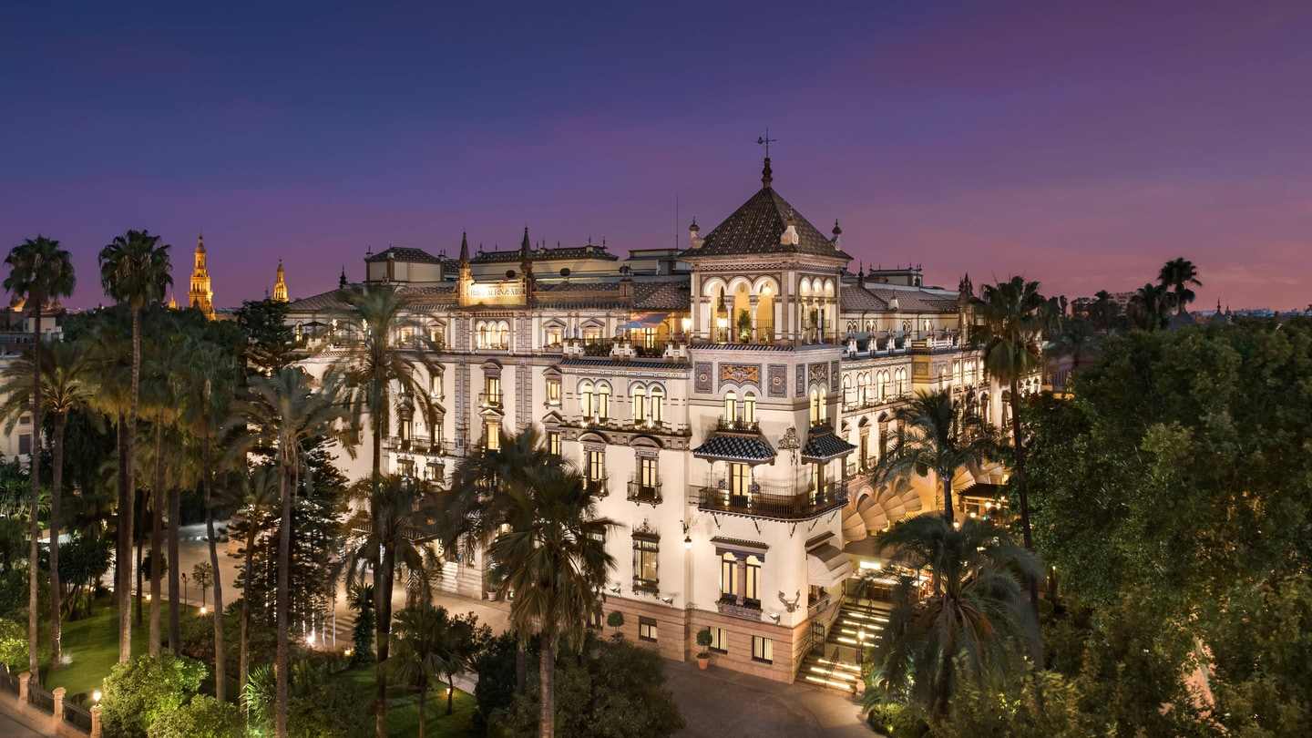 Hotel Alfonso Xiii A Luxury Collection Hotel Sevilla Hotel Histórico De Lujo