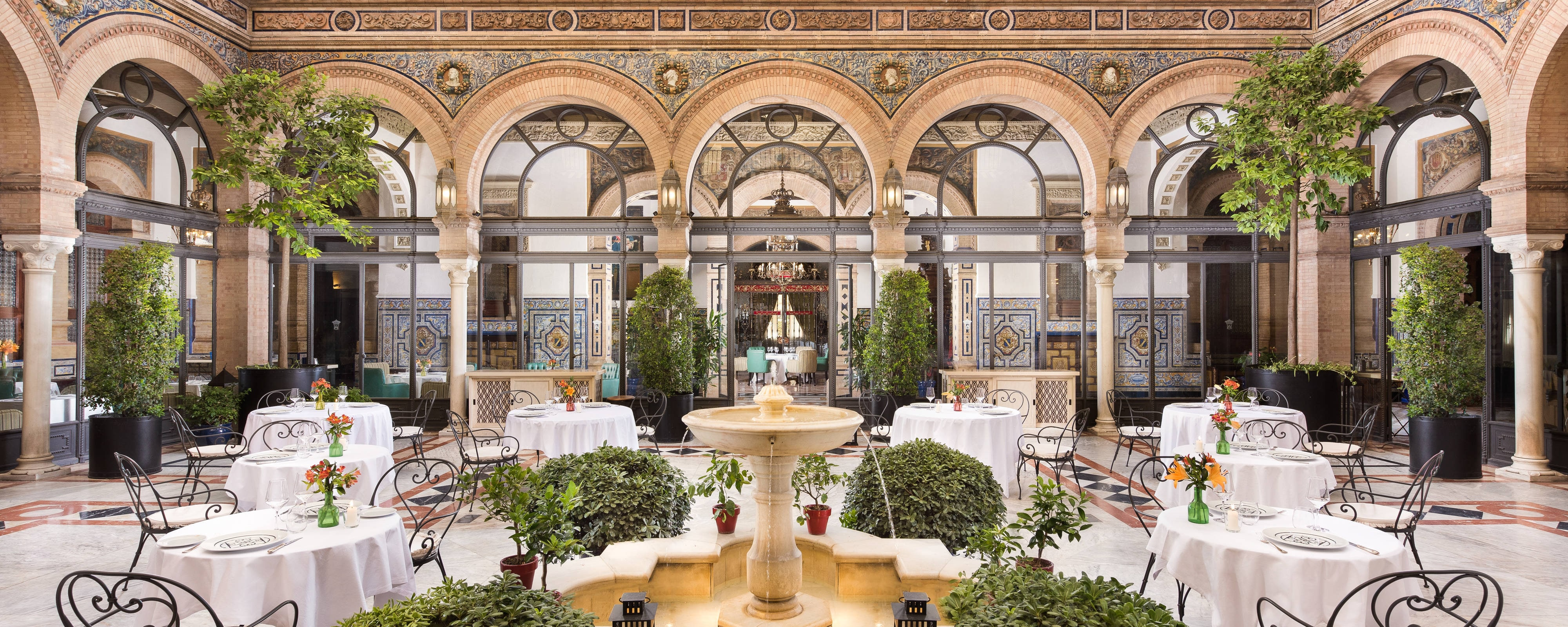 Culinary Experiences In Seville At Hotel Alfonso Xiii A