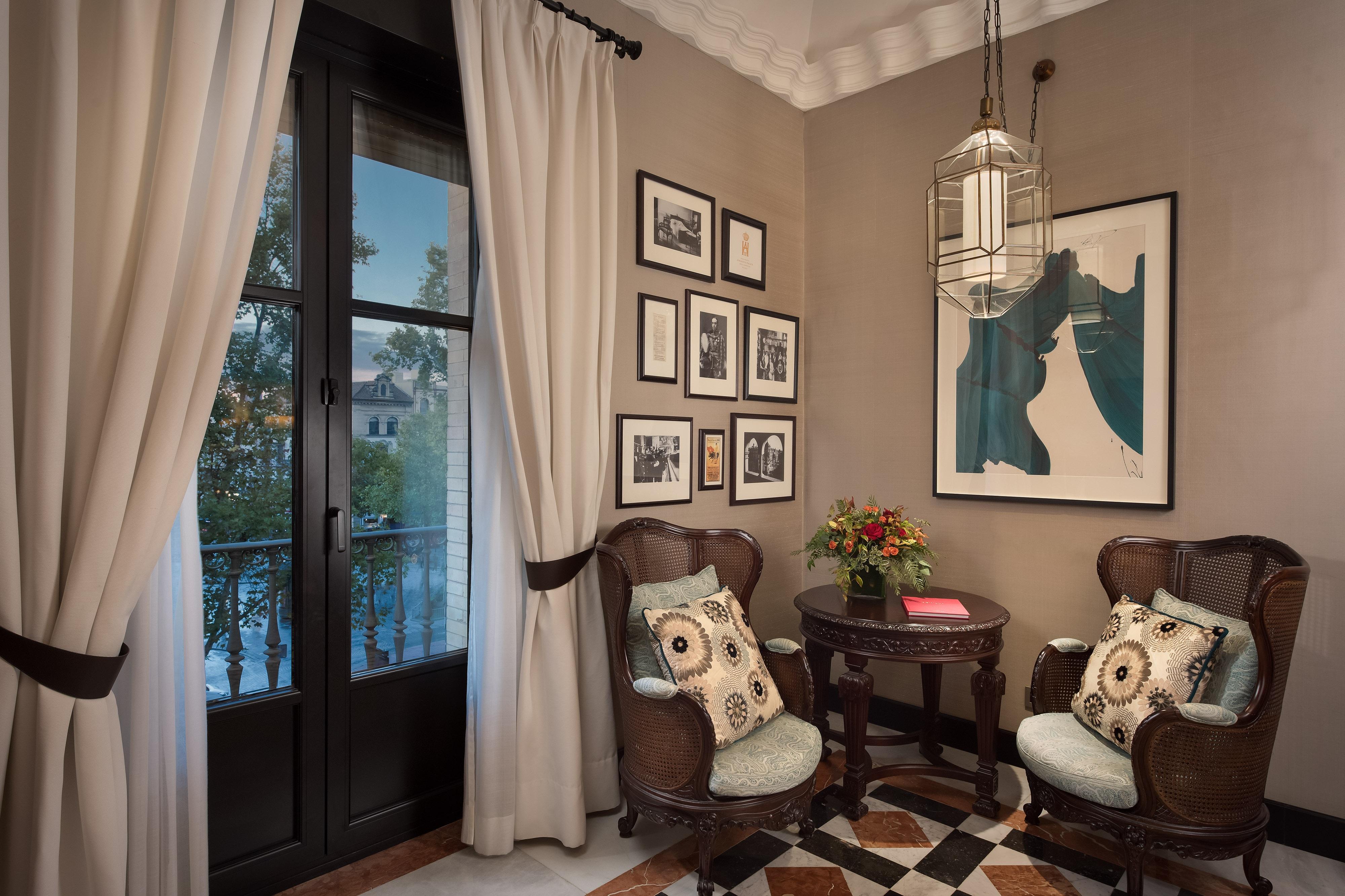 Victoria Eugenia Suite– Wohnzimmer
