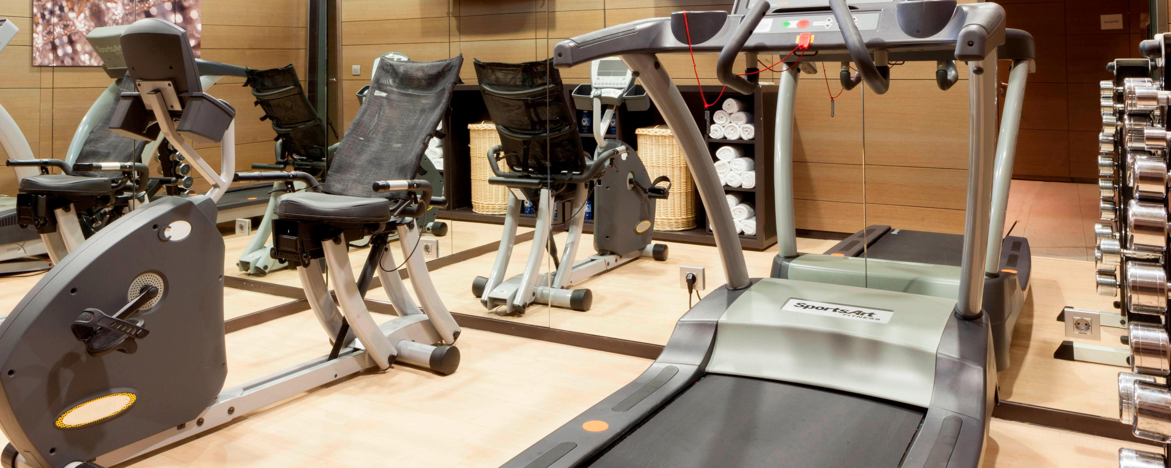 fitness center in seville hotel
