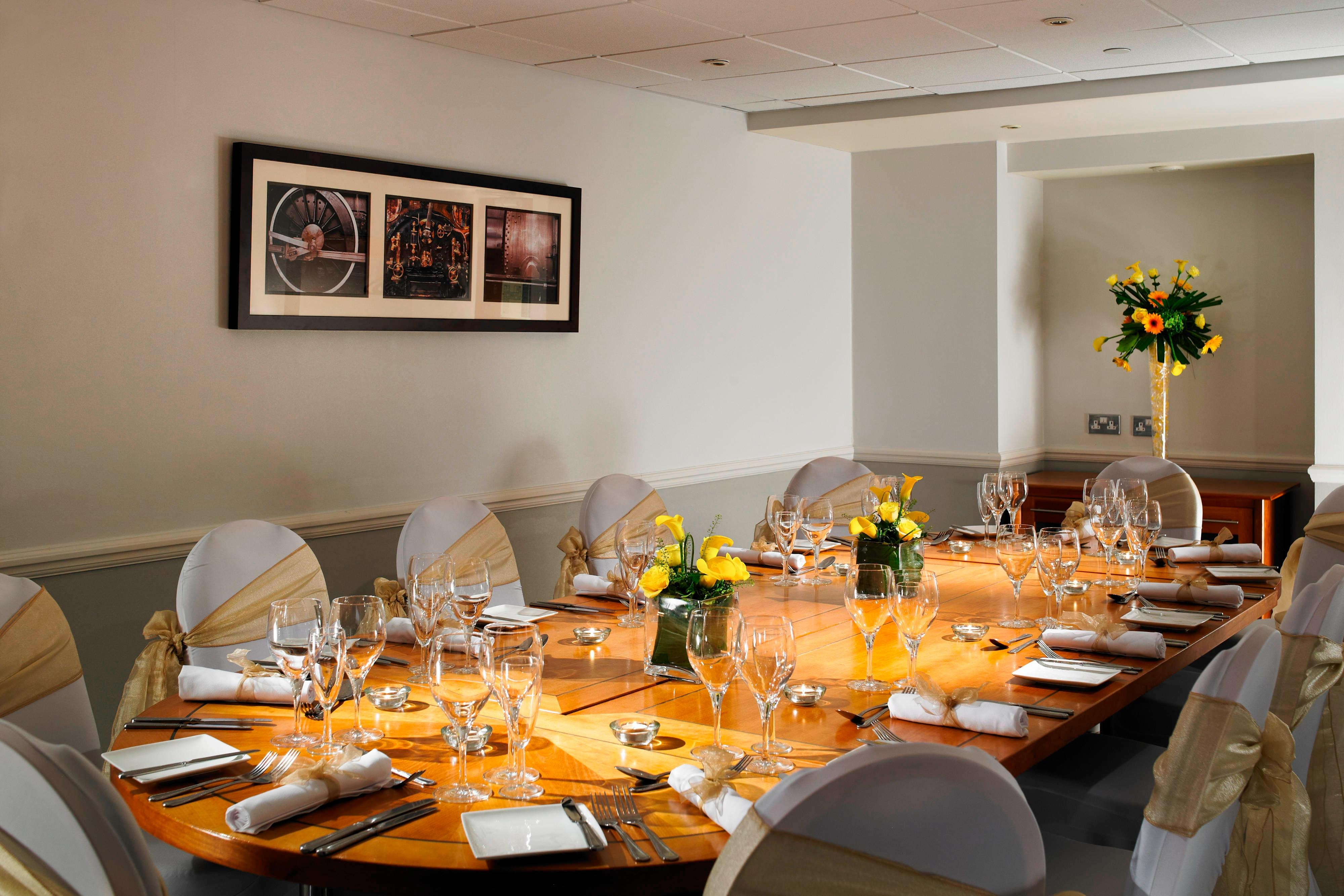 Intimate Private Dining