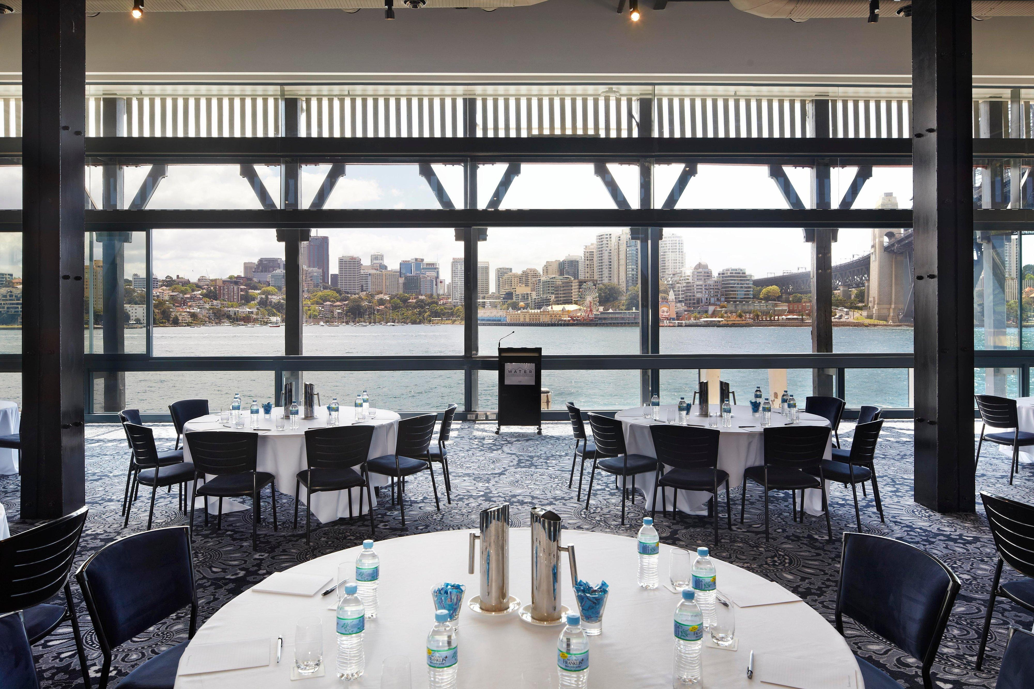 Water at Pier One – Corporate Event Setup